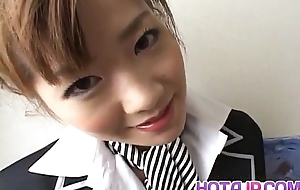 Aizawa Yu with big touch someone for has shaved slit screwed