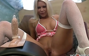 Barbi Sinclair gets the ride of her life