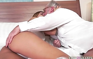 Tricia gets treated right gramps