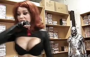 Red Widow defeated in assvengers parody