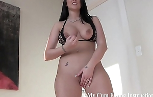 I want to remark you swallow your own cum CEI
