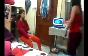 Indian Hostel S exy Girl Enjoy And Dirty Talk Beside Friend