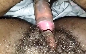ebony pussy being drilled by a hung black guy