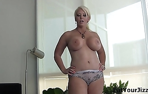 Cum and eat it for Alura Jenson