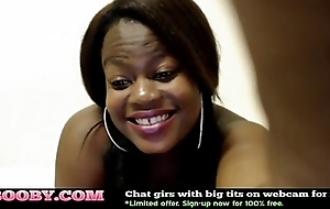Ebony Indulge with Big Special and Botheration Cam Porn